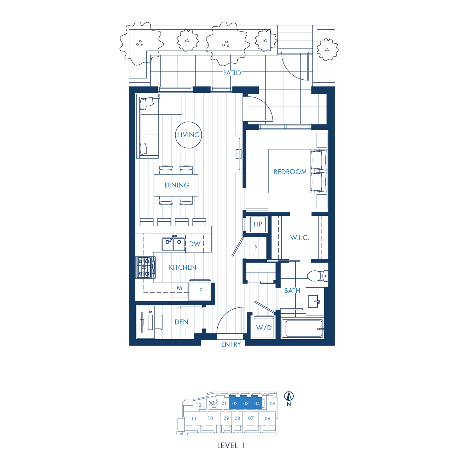North Building Plan A