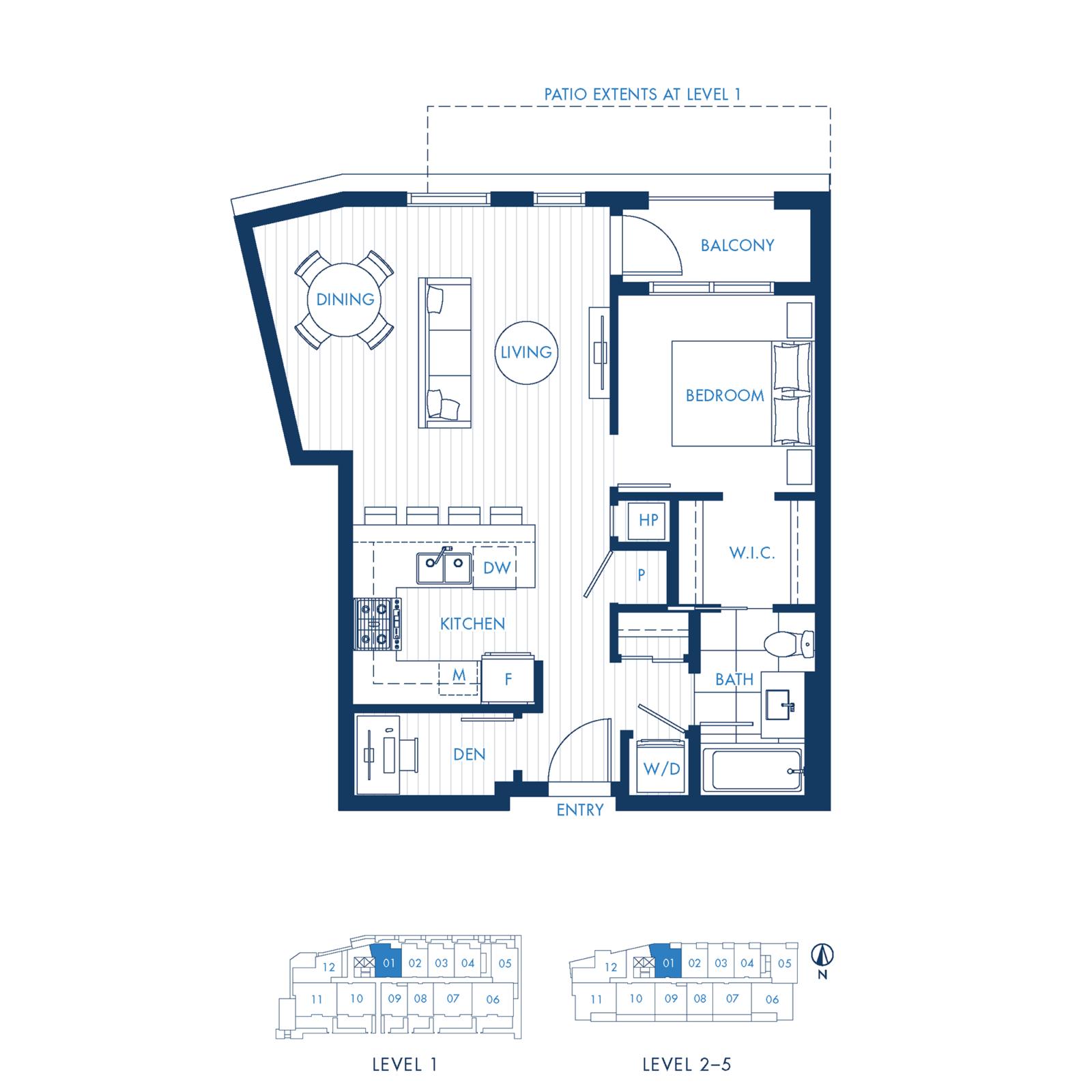 North Building Plan A1