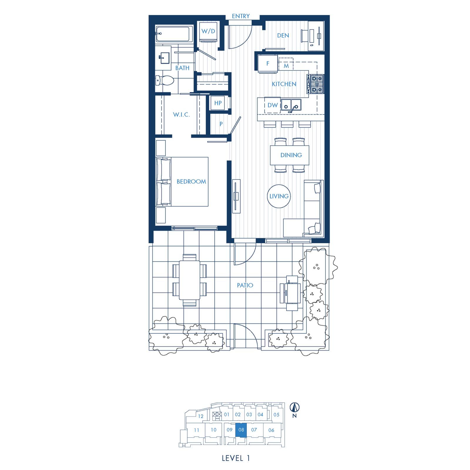 North Building Plan A2