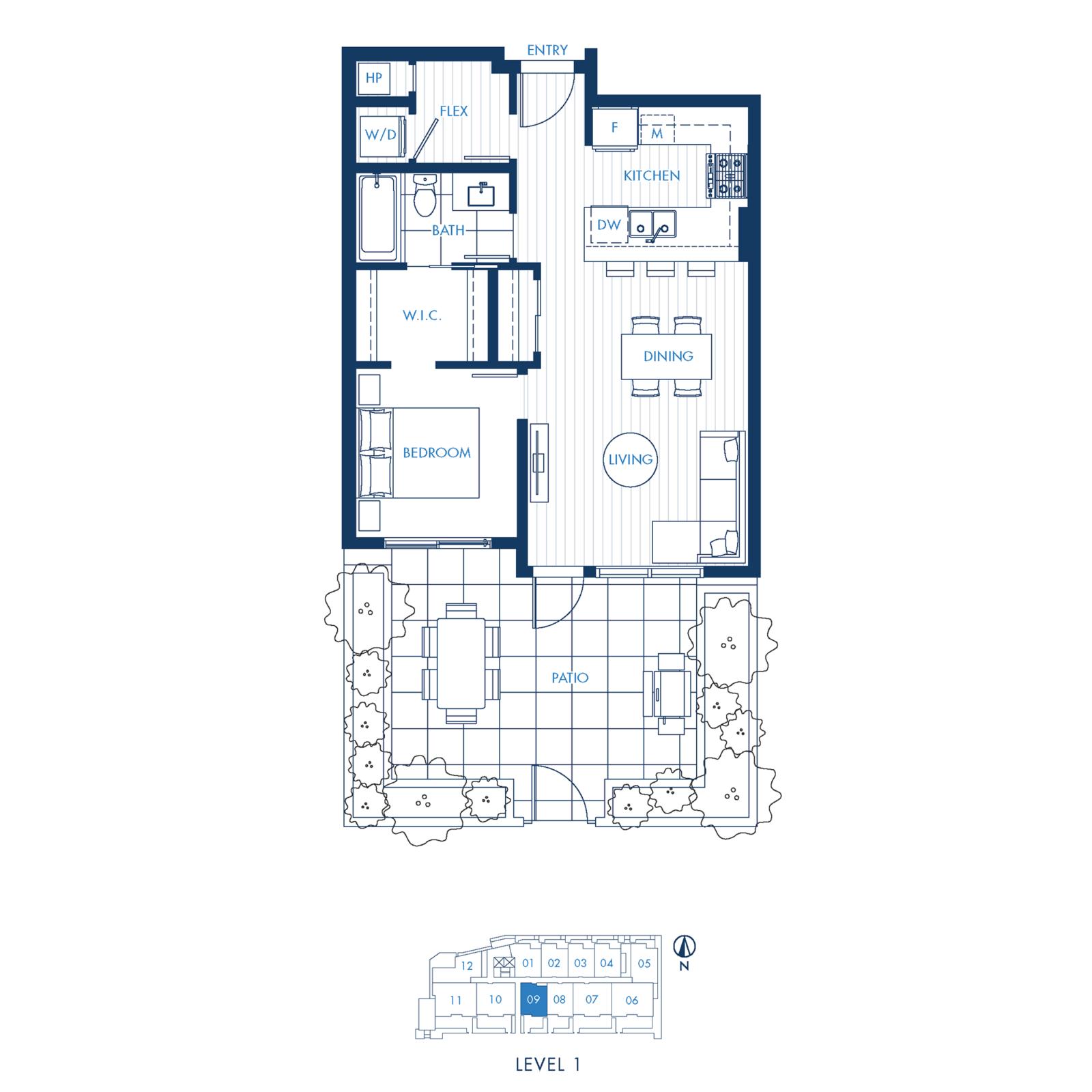 North Building Plan A3