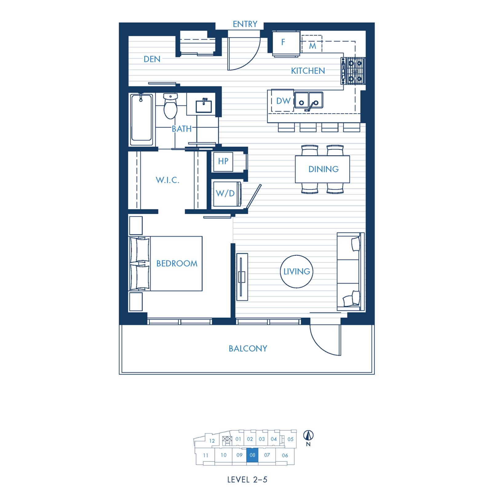 North Building Plan A6