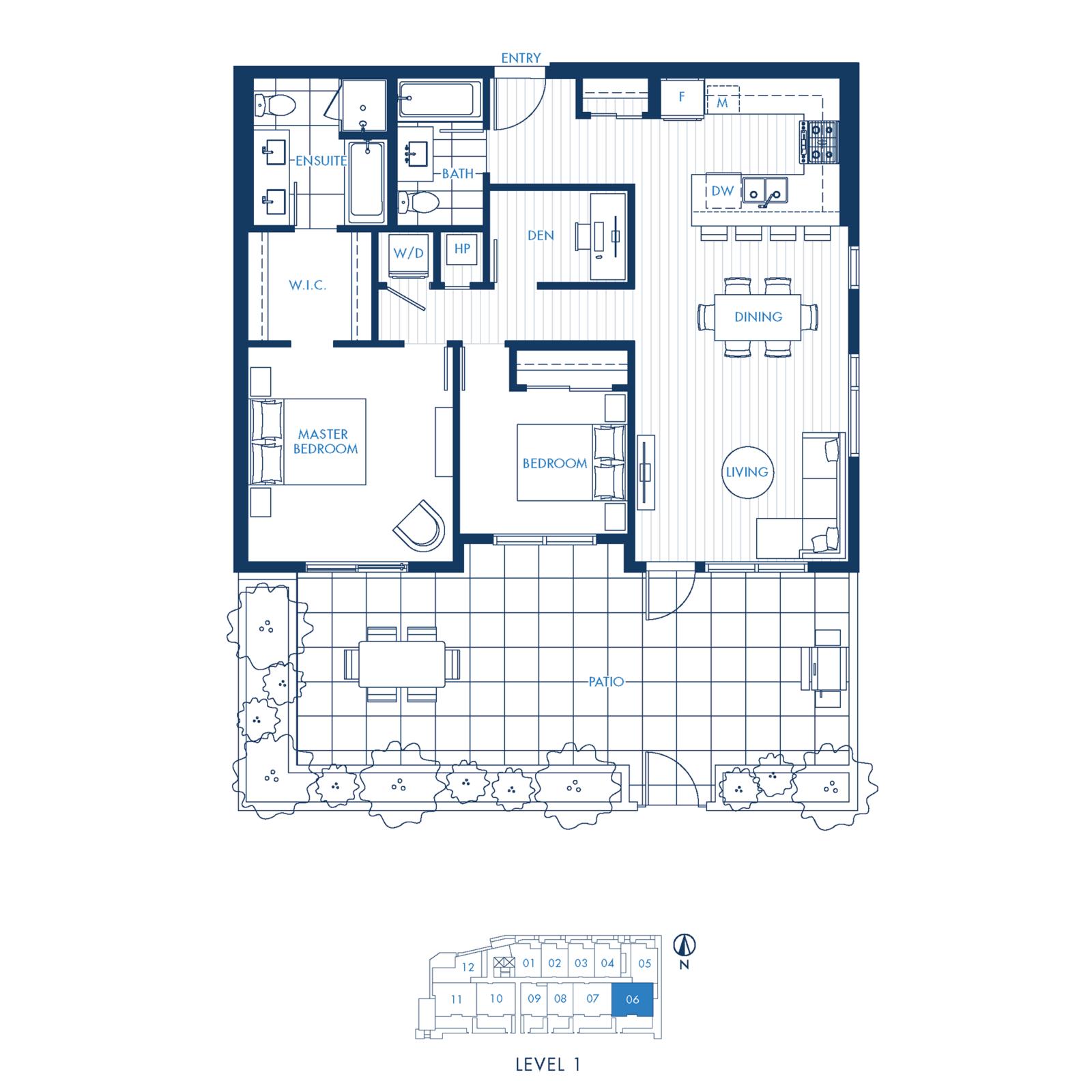 North Building Plan C