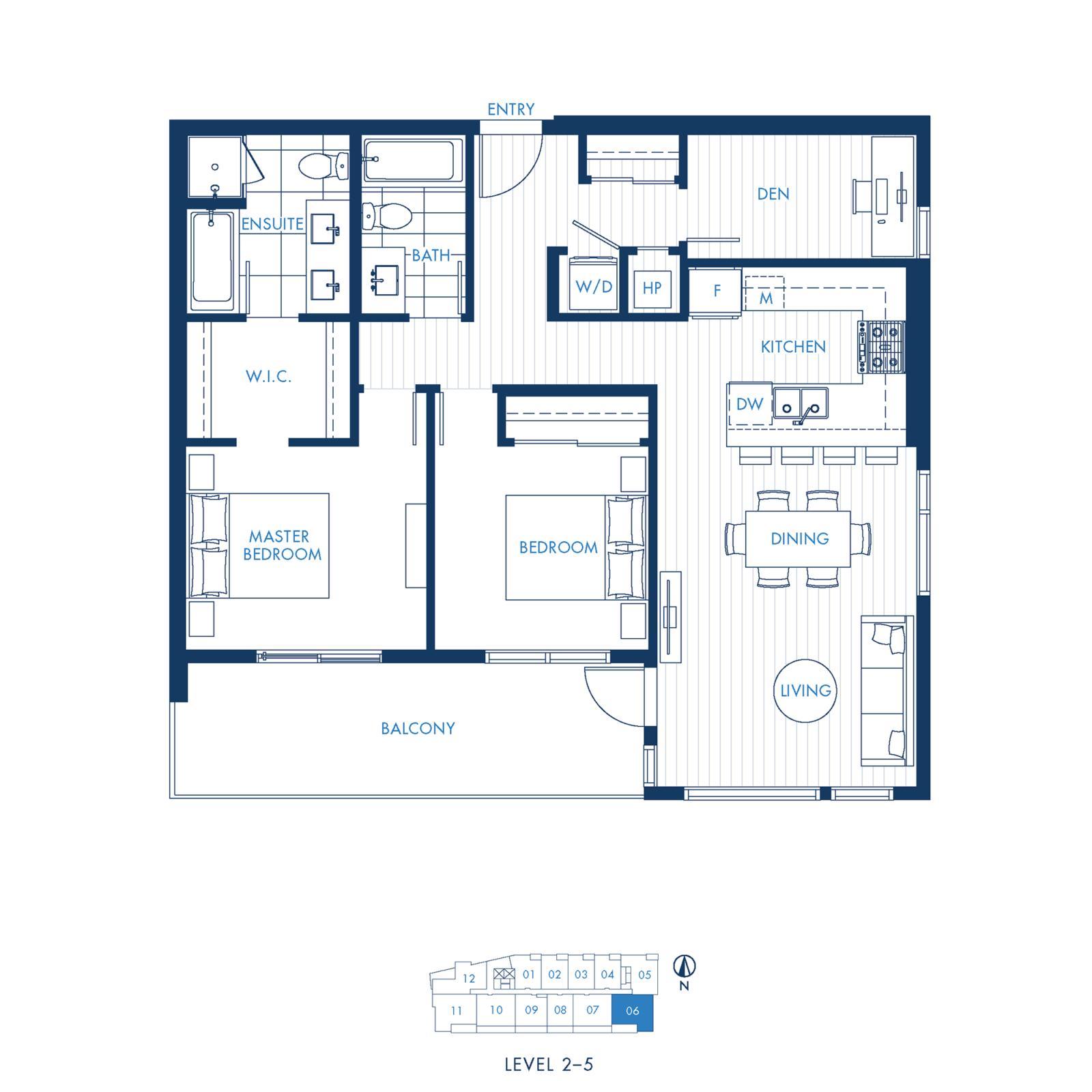 North Building Plan C1