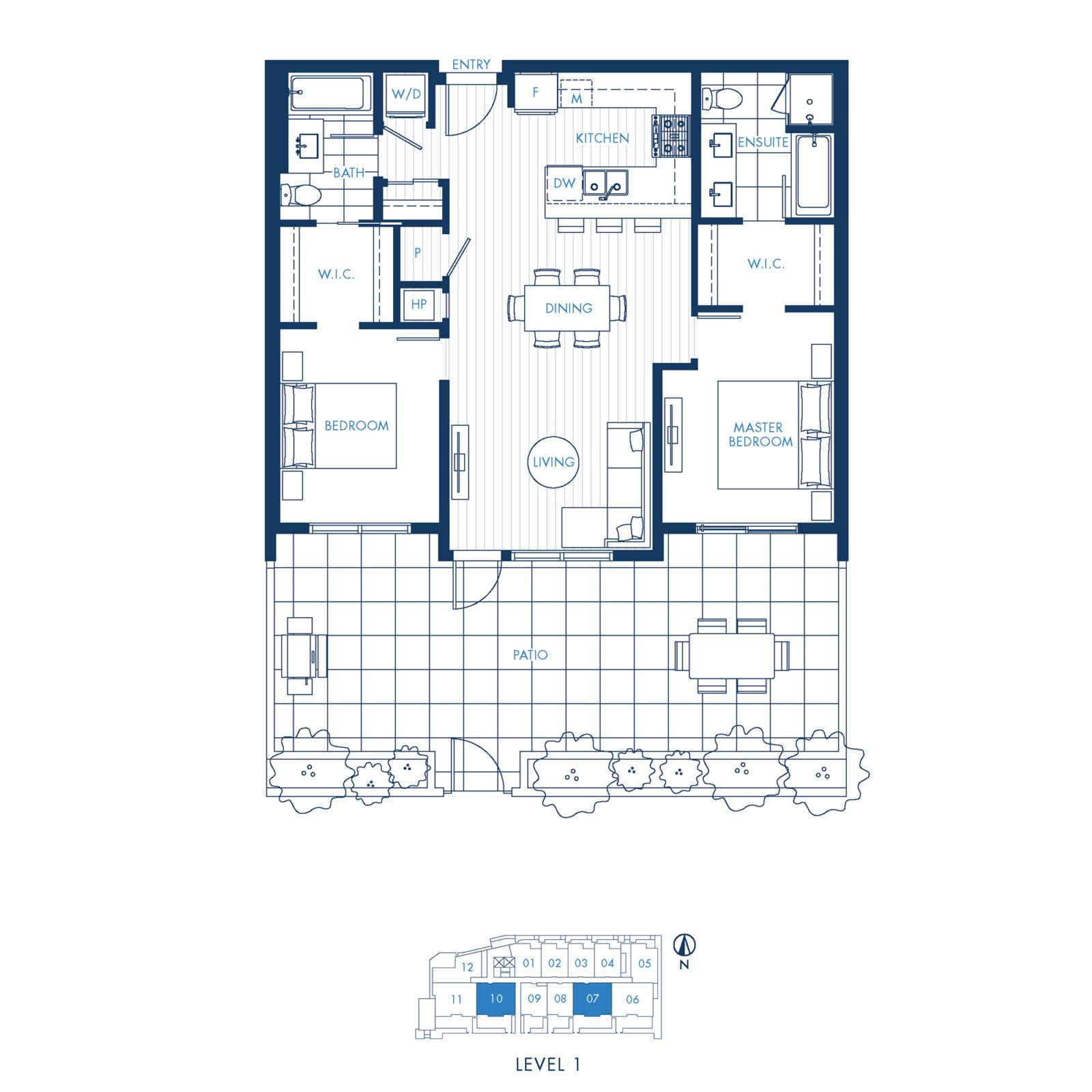 North Building Plan D