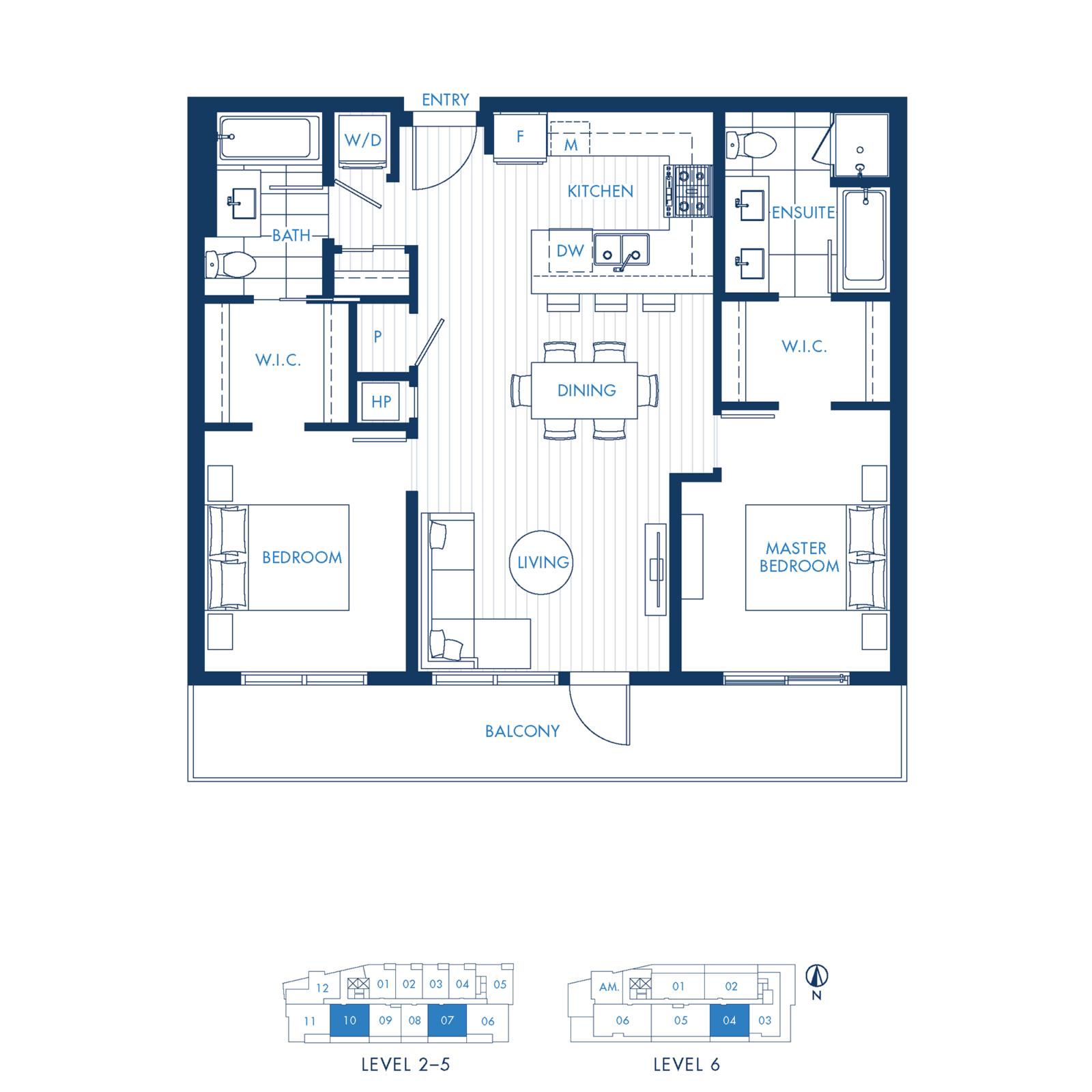 North Building Plan D2