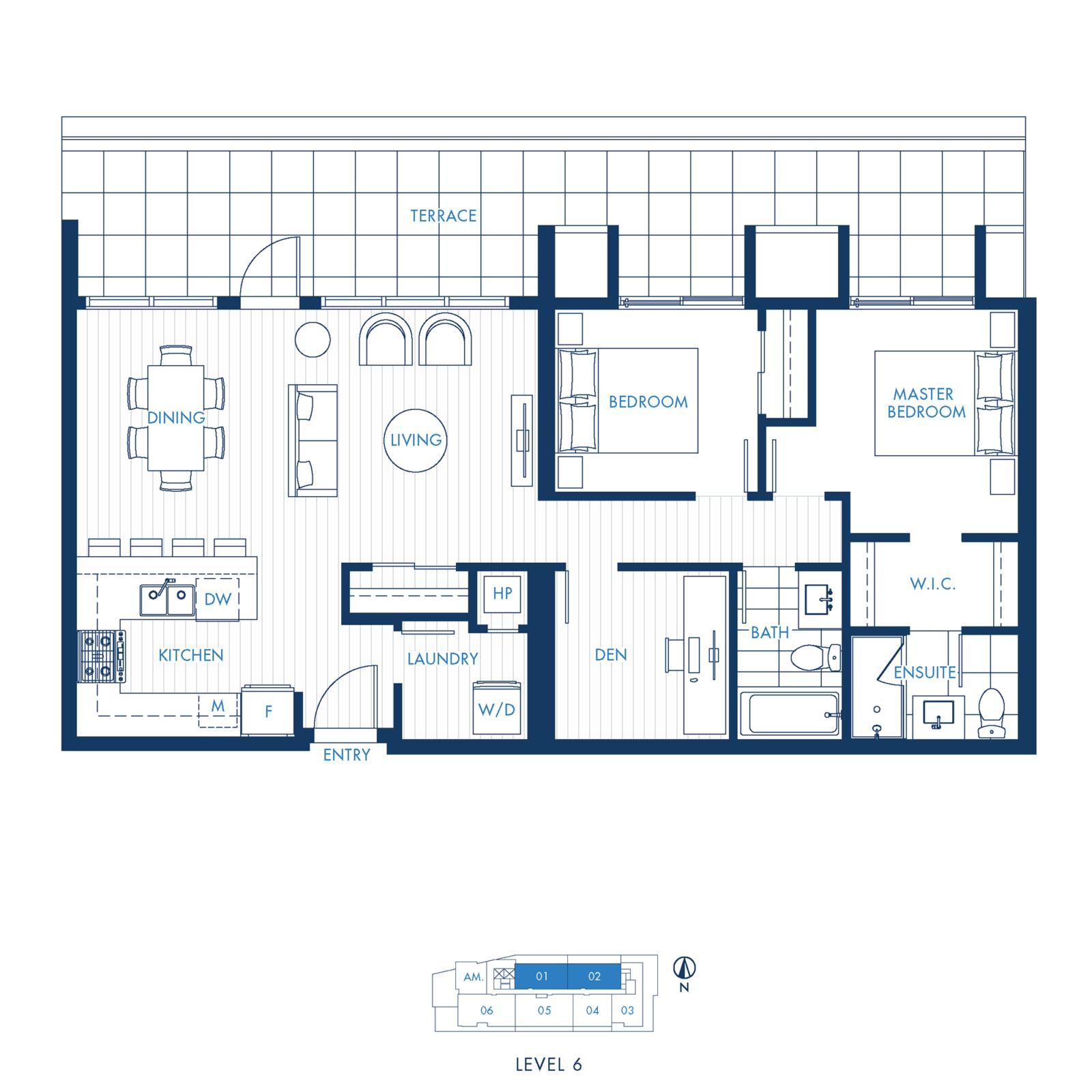 North Building Plan K