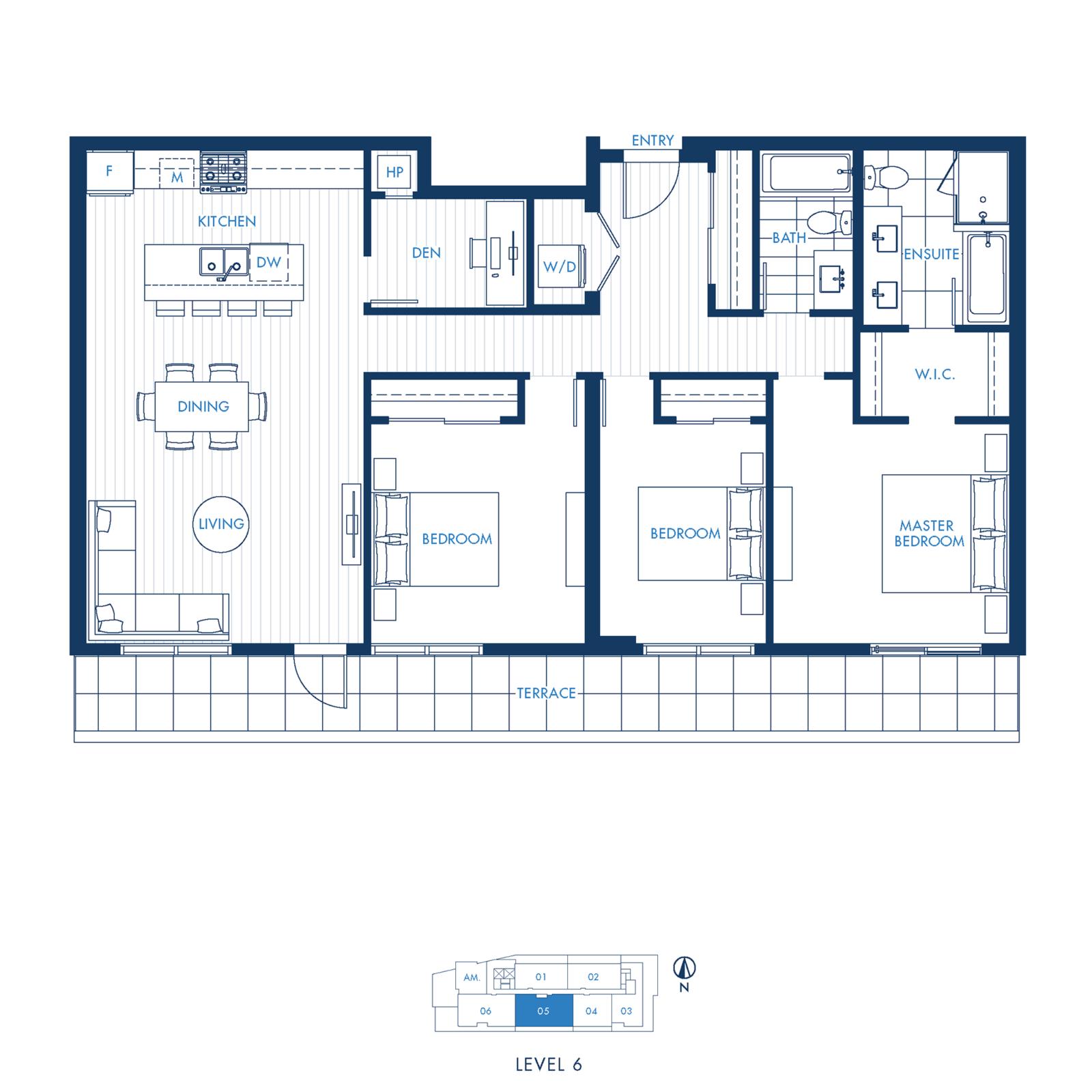 North Building Plan L