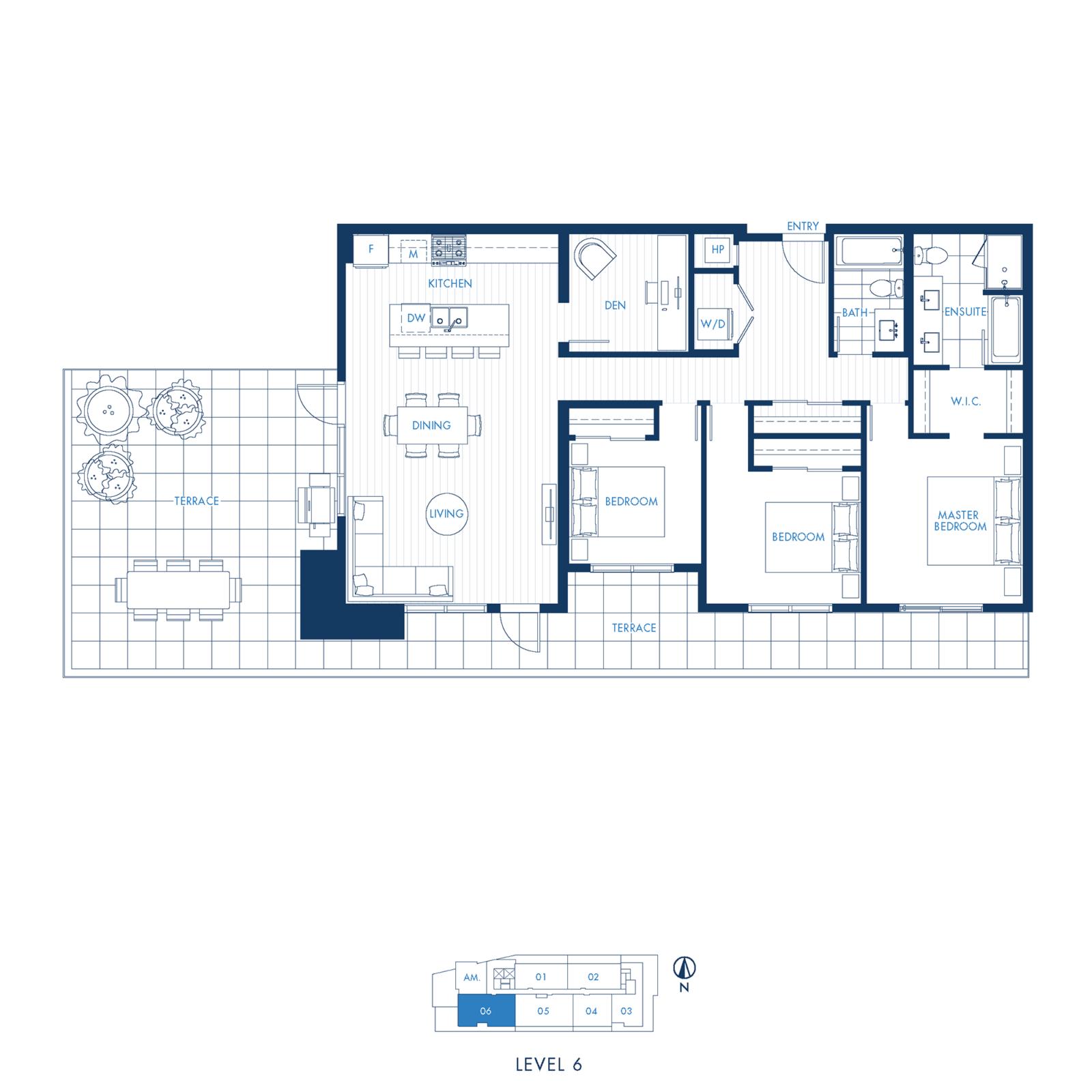 North Building Plan L1