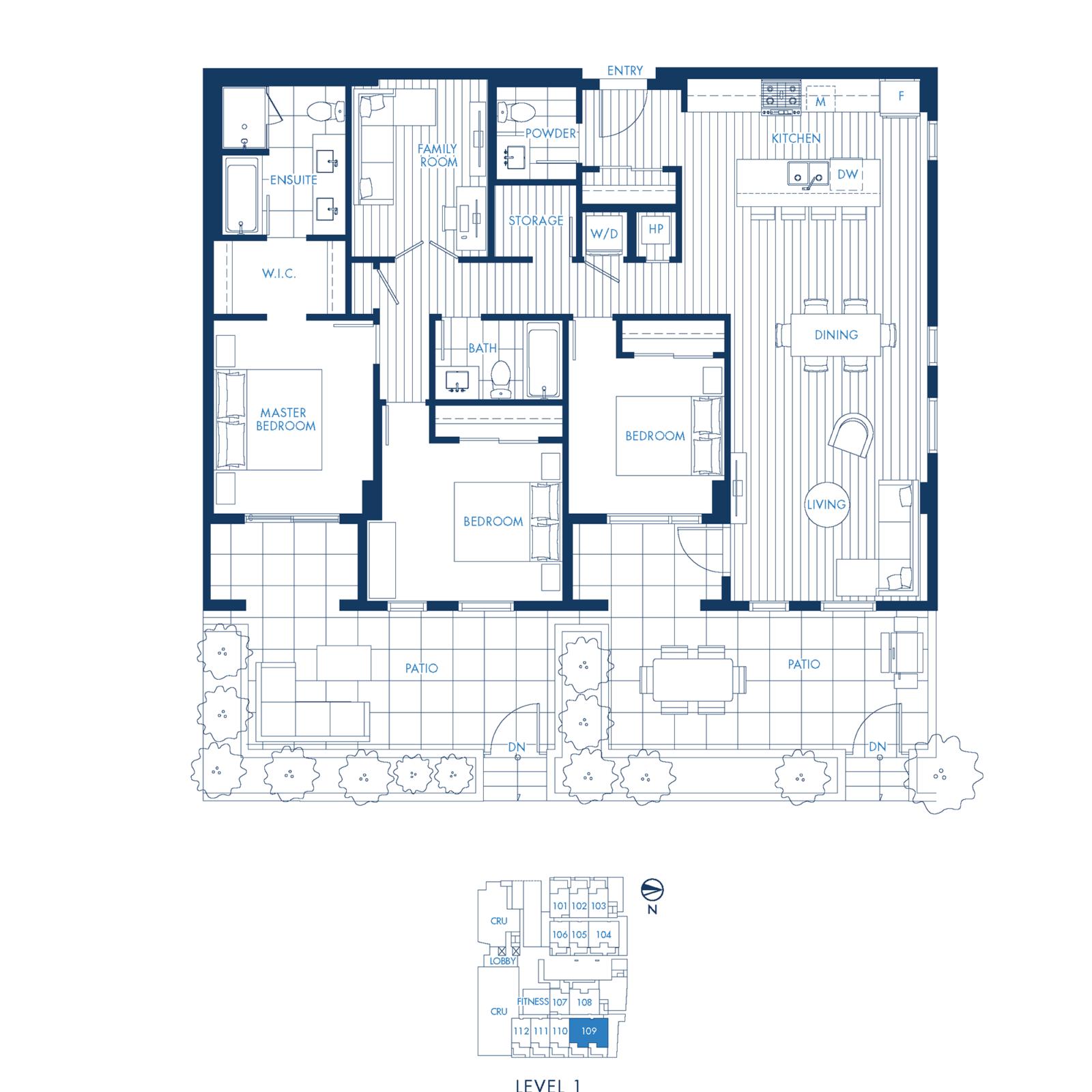 South Building Plan D